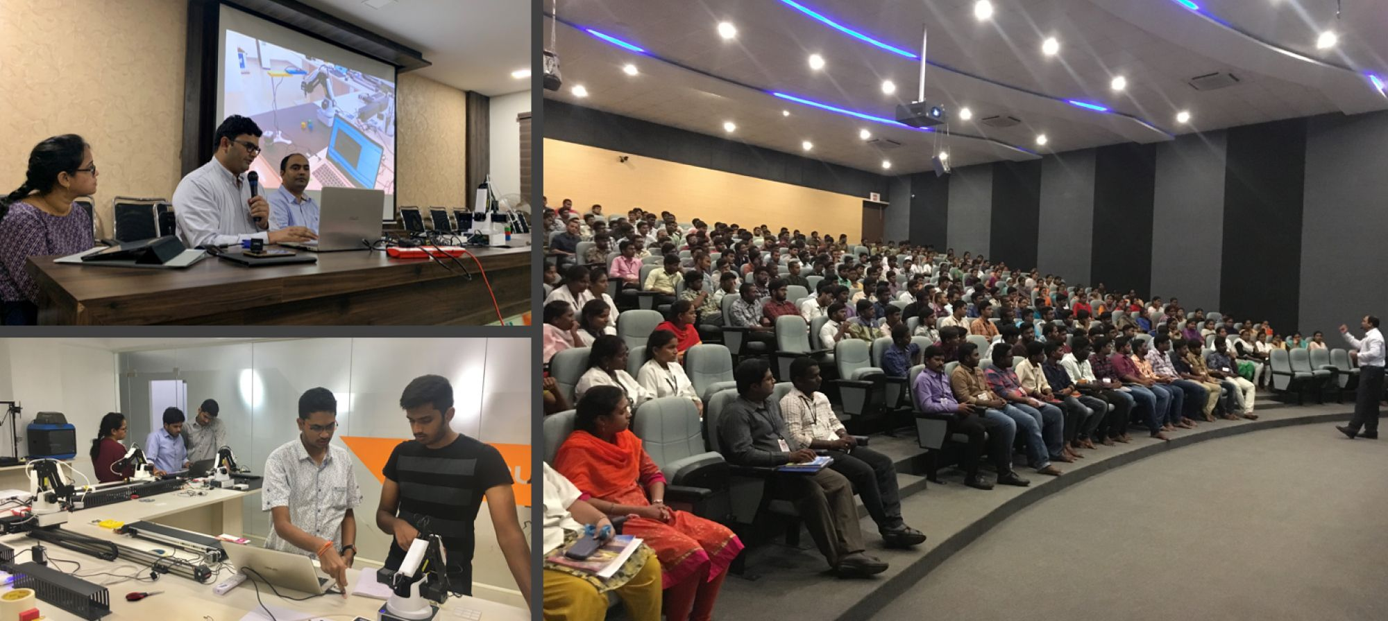 Addressing young minds on Industry 4.0 Assemtica Robotics
