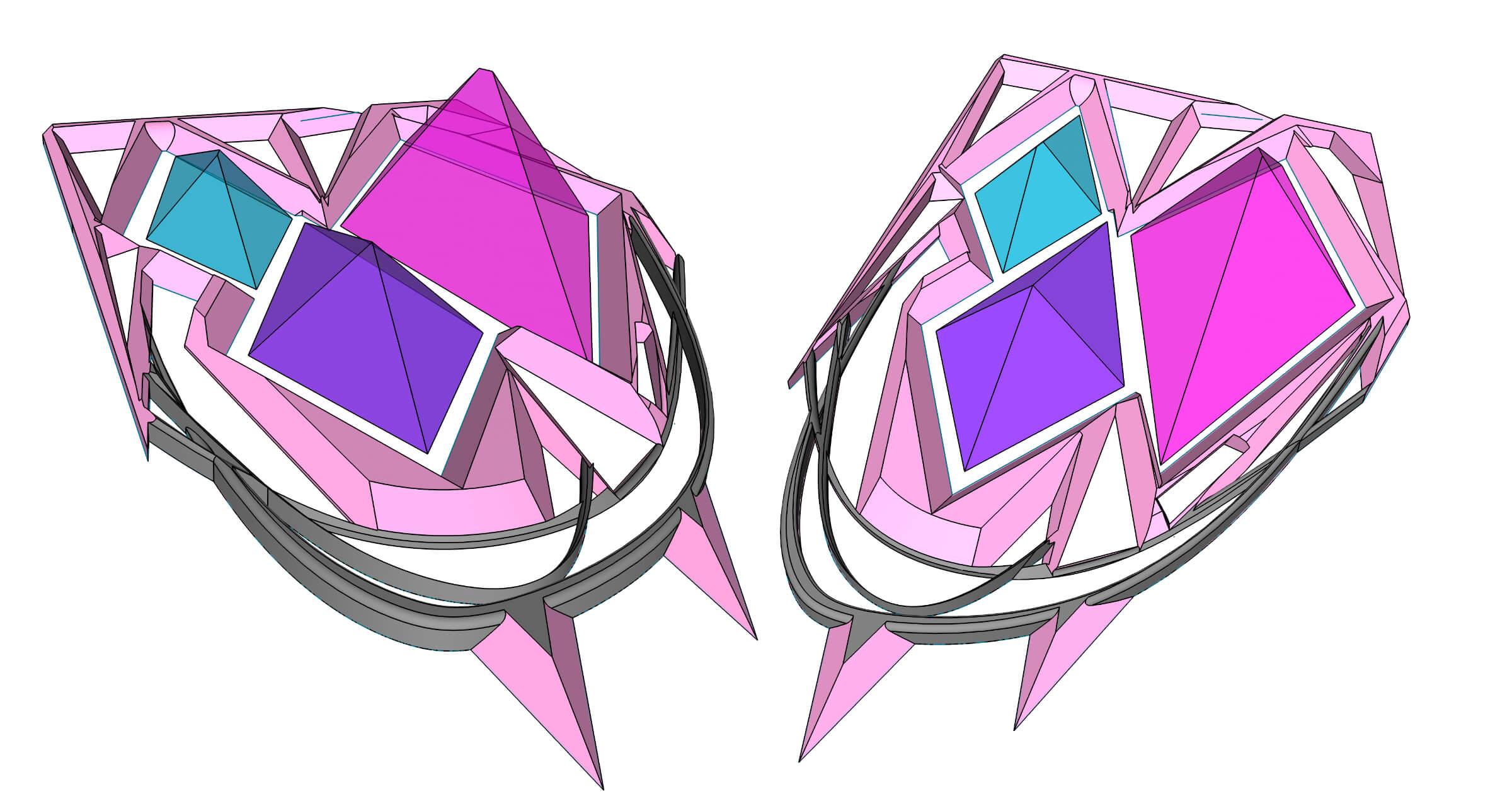 CAD art design on iPad