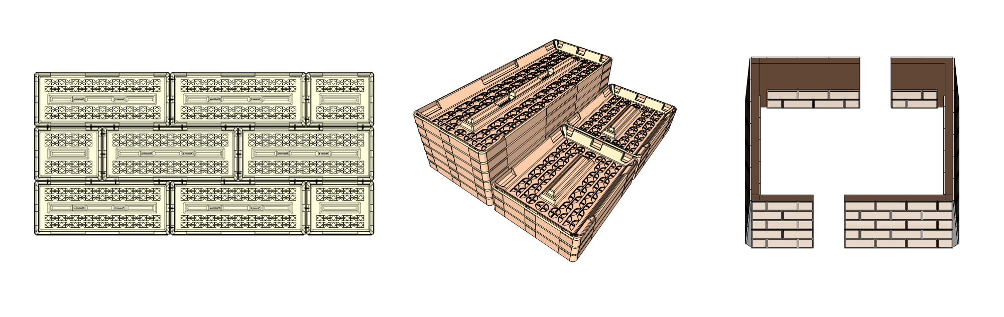 Concept design of Plastidobe blocks in Shapr3D