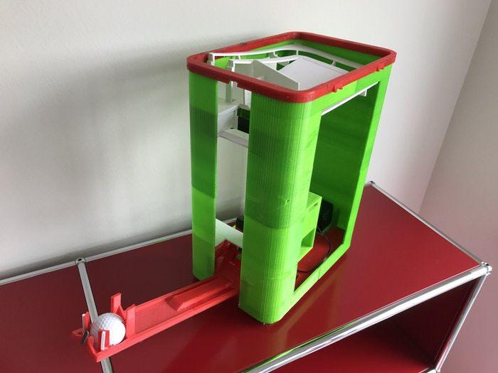 golf ball range product concept prototype