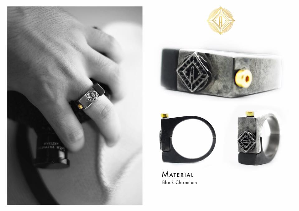 jewelry design marketing material