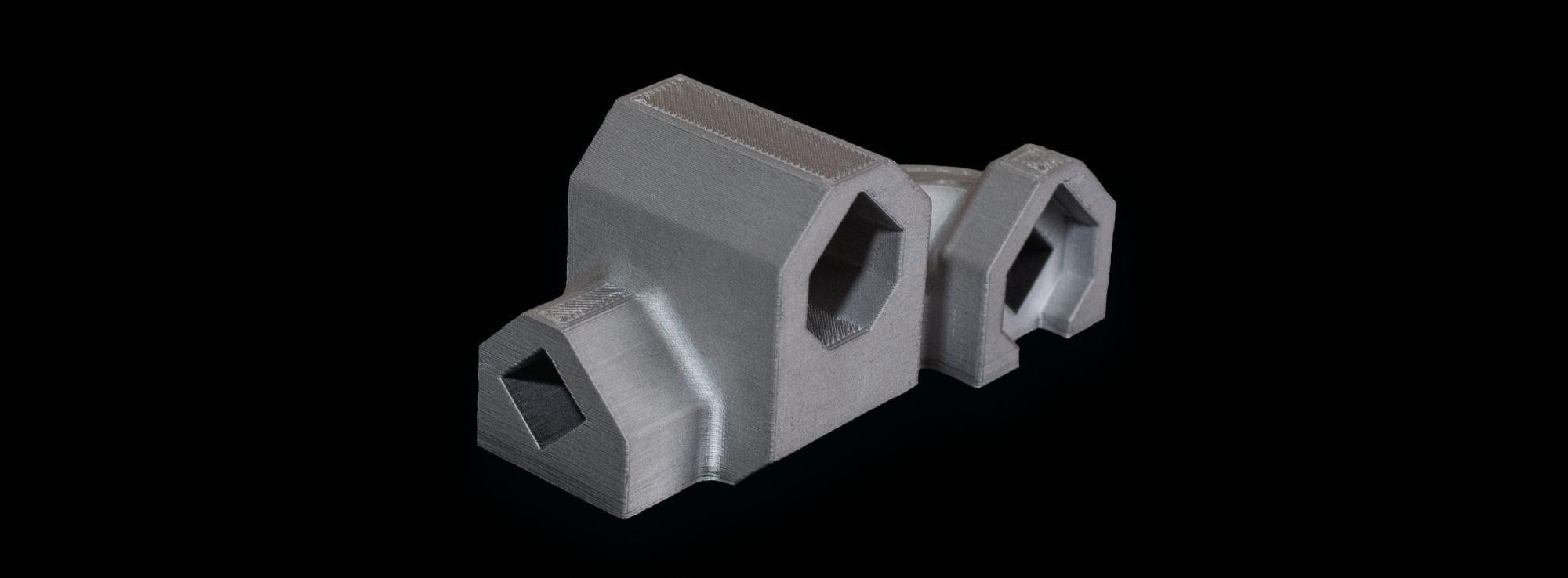 Black and Decker metal printed housing