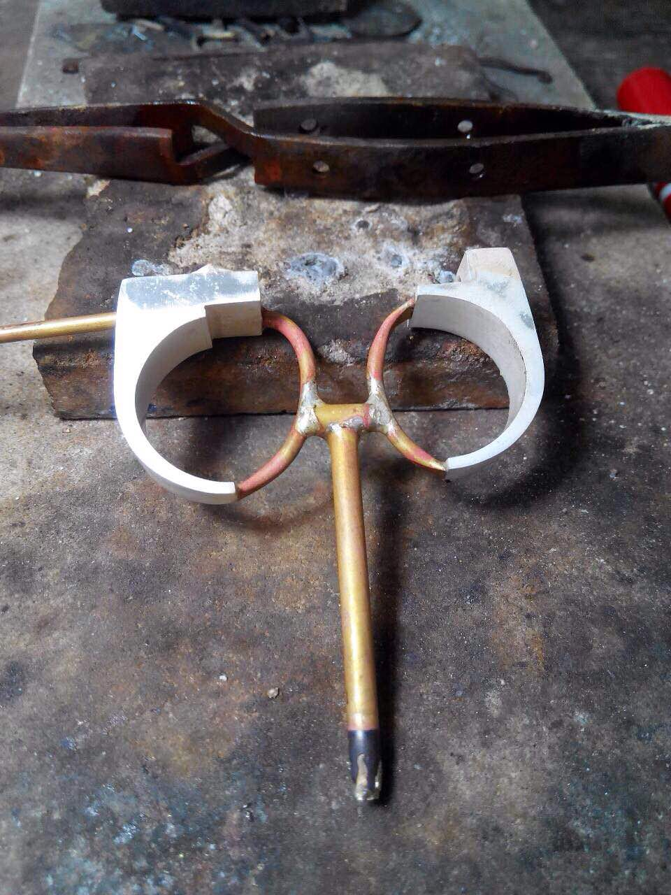 metalworking a ring prototype