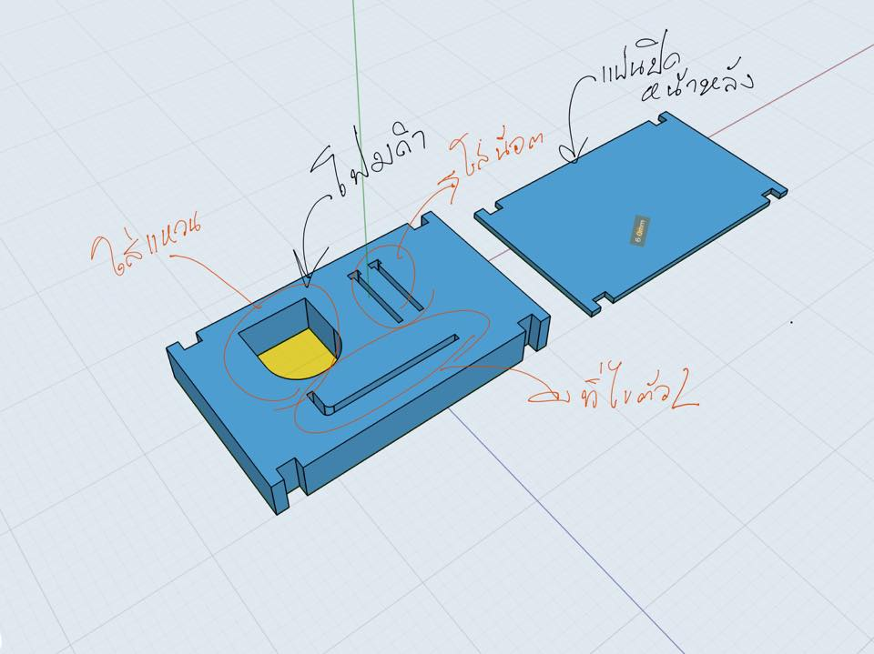 mold model for a custom ring concept